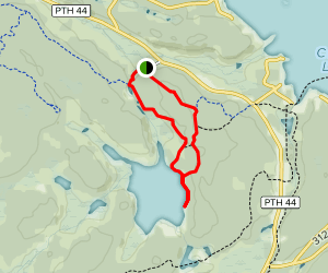 McGillivary Falls Self-Guiding Trail Map