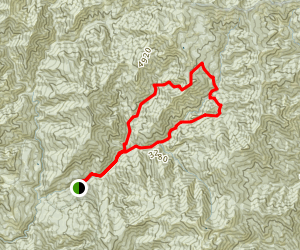 East Fork New River Loop Map