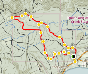 Antone Meadows Trail Map