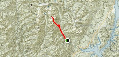 Smith and Morris Lakes Map