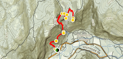 Yosemite Point Map