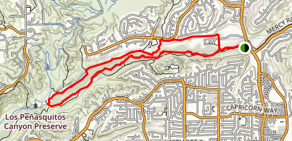 Los Penasquitos Canyon Trail Map