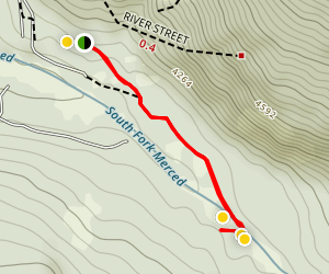 Swinging Bridge Trail Map