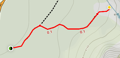 Bridalveil Fall Trail Map