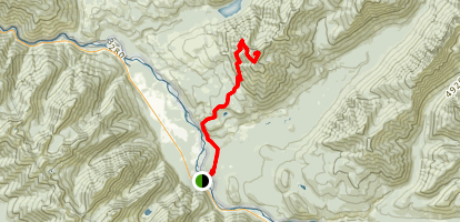 Loneman Lookout Trail Map