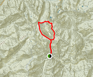 South Fork Coffee Creek Loop Map