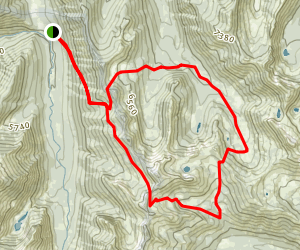 Bullards Basin - Sunrise Creek Loop Map