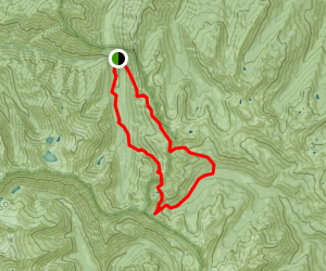Ward Lake Loop Trail Map