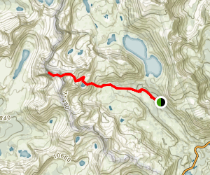 Mount Conness Map