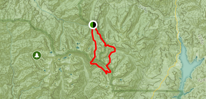 Tri-Forest Peak-Deer Creek Loop Trail Map