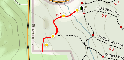 China Creek Trail Map