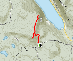 Mount Hor Trail Map