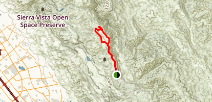 Antler Point from Twin Gates Map