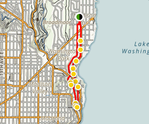 Washington Park Walking Tour Map