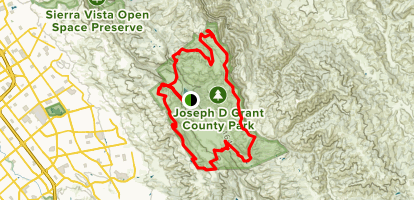 Perimeter Loop Hike Map