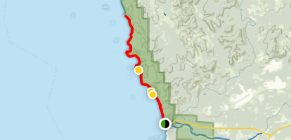 Rialto Beach Trail Map