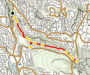 Coal Creek Trail Map