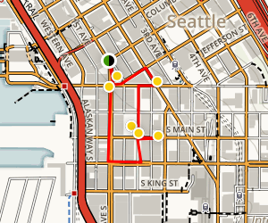 Pioneer Square Walking Tour Map