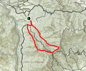 Salt Creek Loop Map