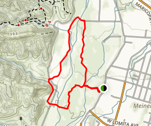 Ventura River Preserve Trail Map