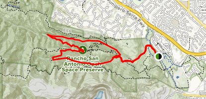 Wildcat Canyon Loop Map