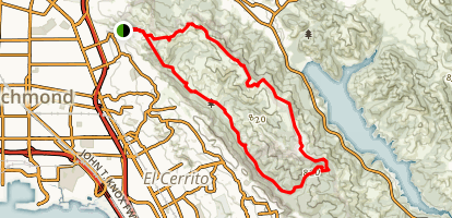 Wildcat Canyon Loop Trail Map