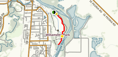Woods Edge Trail Map