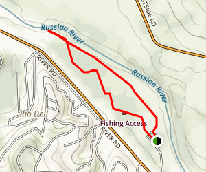 Steelhead Beach Loop Map