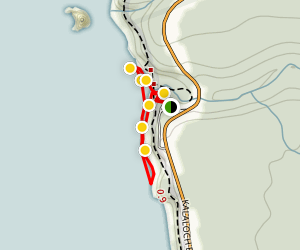 Ruby Beach Map