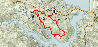 Half-a-Canoe Trail Map