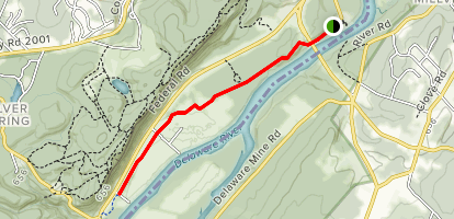 McDade Trail North Map
