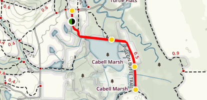 Cabell Marsh Trail Map