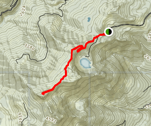 Dock Butte Trail Map