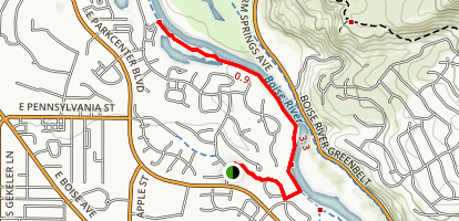 Bethine Church River Trail Map