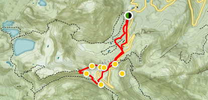 Artist Point Ski Tours Map