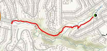 Lunada Canyon Trail Map