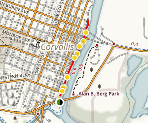 Corvallis Riverfront Trail Map
