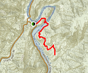 Oxbow Hot Springs Trail Map