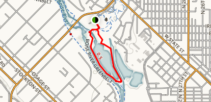 Boise Cascade Lake Loop Map