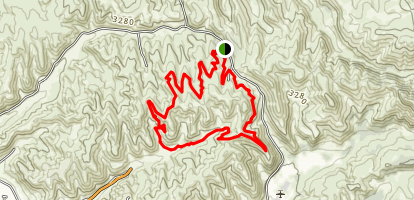 Polecat Loop Trail Map