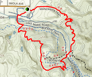 Lower Skyline Loop Map