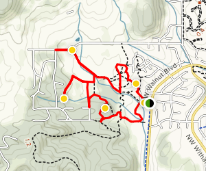 Martin Luther King Park Trail Loop Map