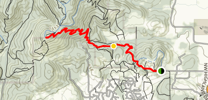Dan's Trail Map