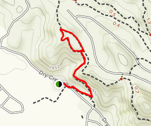 Red Tail and Lookout Loop Trails Map