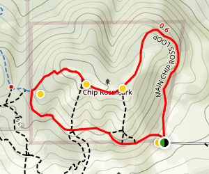 Chip Ross Park Loop Map