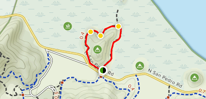 Turtleback Point Loop Map