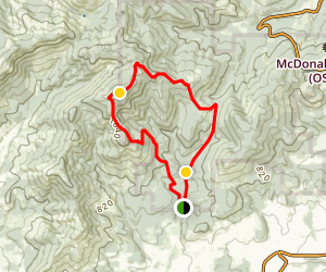 McCulloch Peak Map
