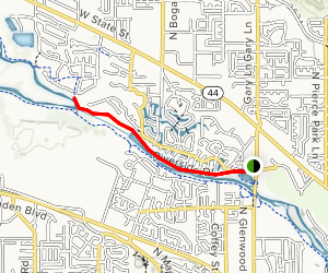 Riverside Pedestrian Path Map