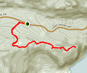 Deer Leap Trail Map