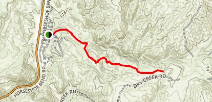 Burnt Car Draw Trail Map